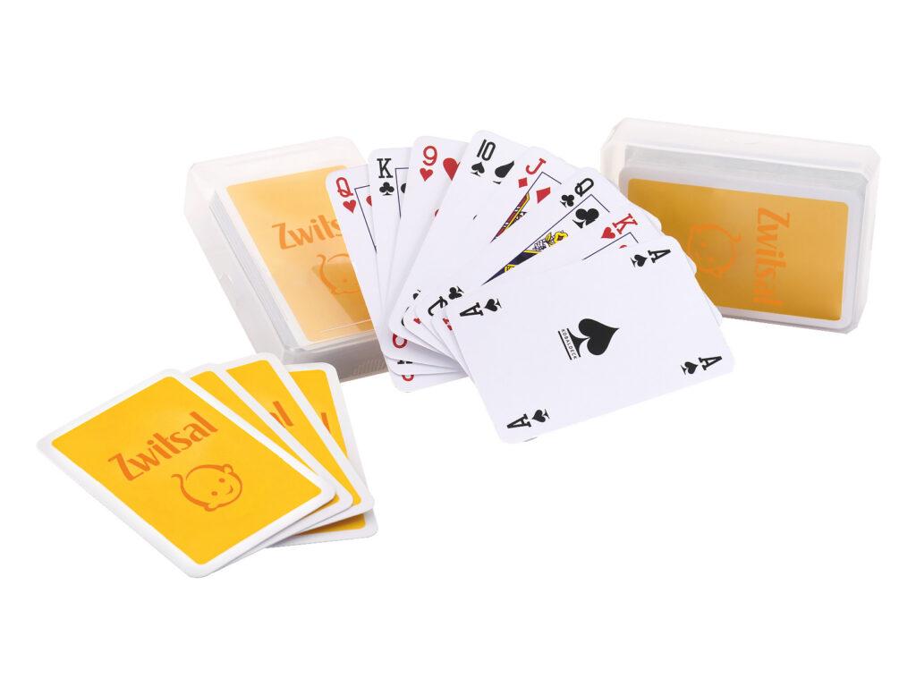 bedrukte speelkaarten